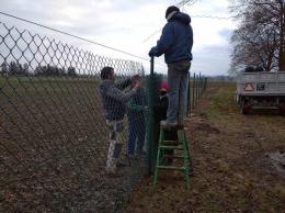 Bezpieczniej na boisku w Olszanach