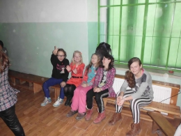 Dyskoteka walentynkowa w Szkole Podstawowej w Olszanach -1