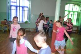 Dyskoteka walentynkowa w Szkole Podstawowej w Olszanach