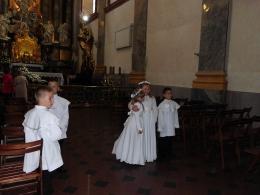 Dzieci komunijne w Częstochowie