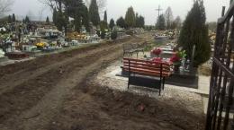 Inwestycje na cmentarzu