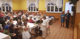 """""""Spotkanie Opłatkowo-Noworoczne"""" w Olszanach-8"""